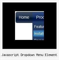 Javascript Dropdown Menu Element Horizontal Navigation Menu