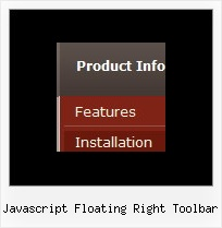 Javascript Floating Right Toolbar Transparent Layer Dhtml Fade