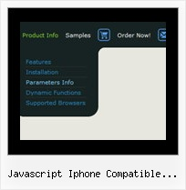Javascript Iphone Compatible Dropdown Menu Sliding Tree Menu