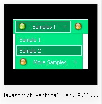 Javascript Vertical Menu Pull Right Layers Position