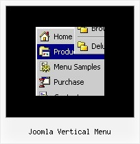 Joomla Vertical Menu Collapse Menu Html