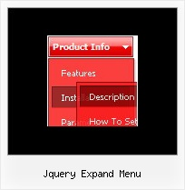 Jquery Expand Menu Collapse Menu Javascript
