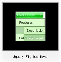 Jquery Fly Out Menu Menu Vertical Html Deroulant