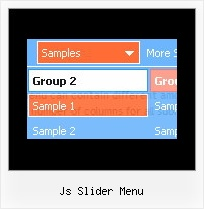 Js Slider Menu Html Form With Xp Style