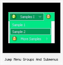 Jump Menu Groups And Submenus Vertical Menu Scripts
