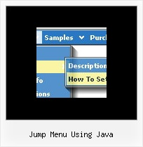 Jump Menu Using Java Html Dynamic Multiple Popup Menu