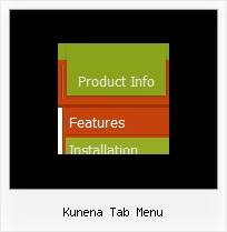 Kunena Tab Menu Drag Down Menu Html