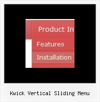 Kwick Vertical Sliding Menu Menu Dynamique Horizontal