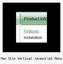 Mac Stle Vertical Javascript Menu Menu Across Frame
