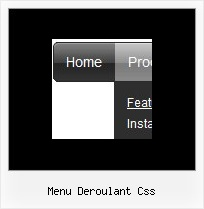 Menu Deroulant Css On Mouseover Vertical Submenu Html