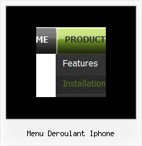 Menu Deroulant Iphone Menu Drop Down Download