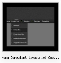 Menu Deroulant Javascript Cms Made Simple Cascading Menu