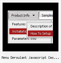 Menu Deroulant Javascript Cms Made Simple Relative Position Dhtml Collapse