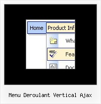 Menu Deroulant Vertical Ajax Sample De Paginas