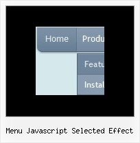 Menu Javascript Selected Effect Creating A Menu Js