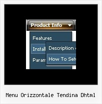 Menu Orizzontale Tendina Dhtml Drop Down Navigation Menu