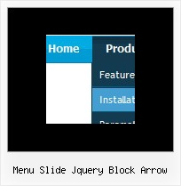 Menu Slide Jquery Block Arrow Css Menu Drag And Drop