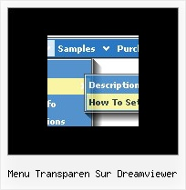 Menu Transparen Sur Dreamviewer Navigation Sample Javascript Download