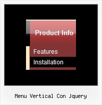 Menu Vertical Con Jquery Html Menu Desplegable