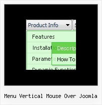 Menu Vertical Mouse Over Joomla Simple Rollover Menu Javascript