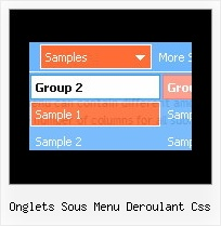 Onglets Sous Menu Deroulant Css Windows Popup Menu