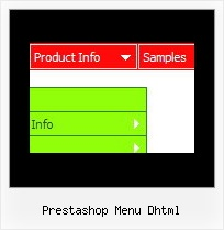 Prestashop Menu Dhtml Html Forms Drop Down