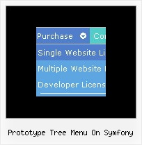 Prototype Tree Menu On Symfony Javascript Mouseover Examples