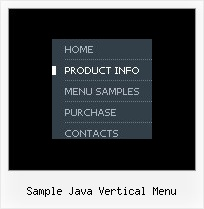 Sample Java Vertical Menu Javascript Dropdown Menu Dhtml
