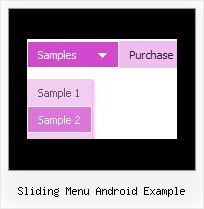 Sliding Menu Android Example Javascript Drop Down Country