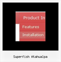 Superfish Atahualpa Simple Jscript Menu