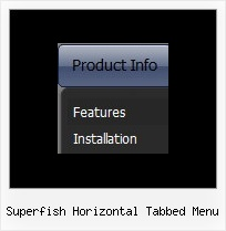 Superfish Horizontal Tabbed Menu Mit Javascript Frames