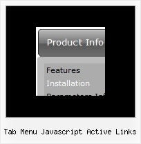 Tab Menu Javascript Active Links Dhtml Floating Window