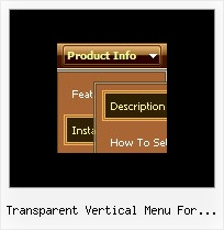 Transparent Vertical Menu For Joomla Css Drop Menus