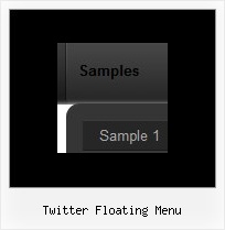 Twitter Floating Menu Dhtml Xp Menu Examples