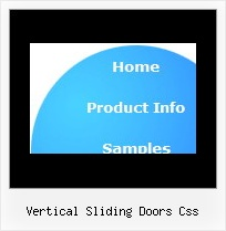 Vertical Sliding Doors Css Position Javascript Dhtml