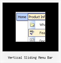 Vertical Sliding Menu Bar Dhtml Scrolling Layers
