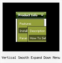 Vertical Smooth Expand Down Menu Menu Dinamici Javascript Source Code