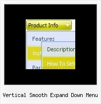Vertical Smooth Expand Down Menu Create Javascript Collapsible Tree Example
