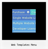Web Templates Menu Tutorial Expandable Menu