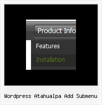 Wordpress Atahualpa Add Submenu Dynamic Javascript List Loading
