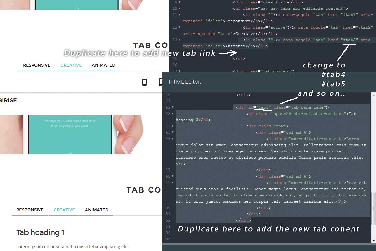 Twitter Bootstrap Responsive Theme Template