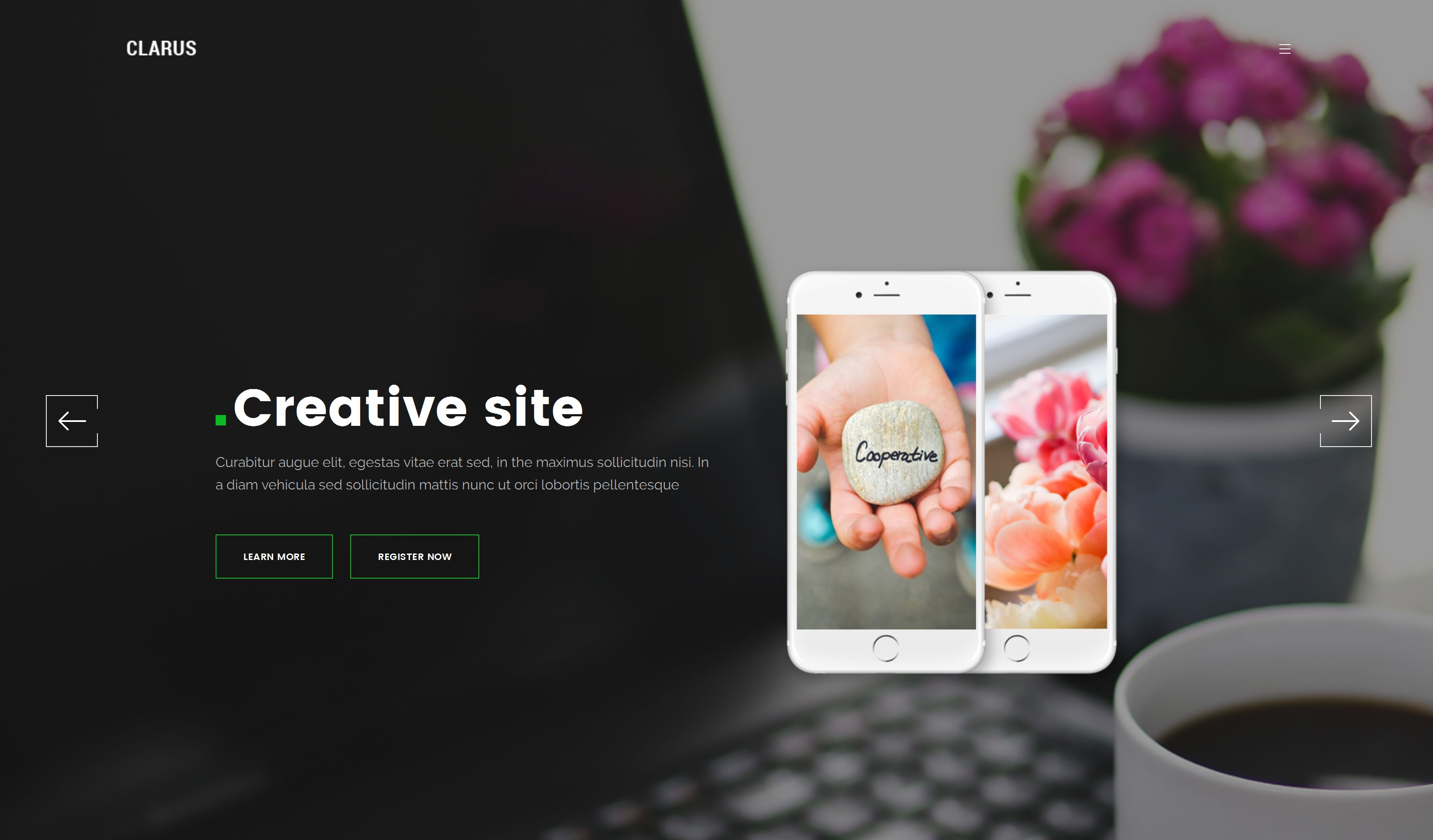 Free Bootstrap Starter Theme