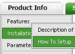 Xp Style Menus Indexhibit Section Menu Expandable