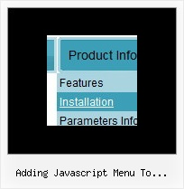 Adding Javascript Menu To Atahualpa Websites With Dropdown Menus