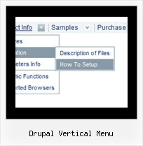 Drupal Vertical Menu How Do I Display A Popup Menu Html