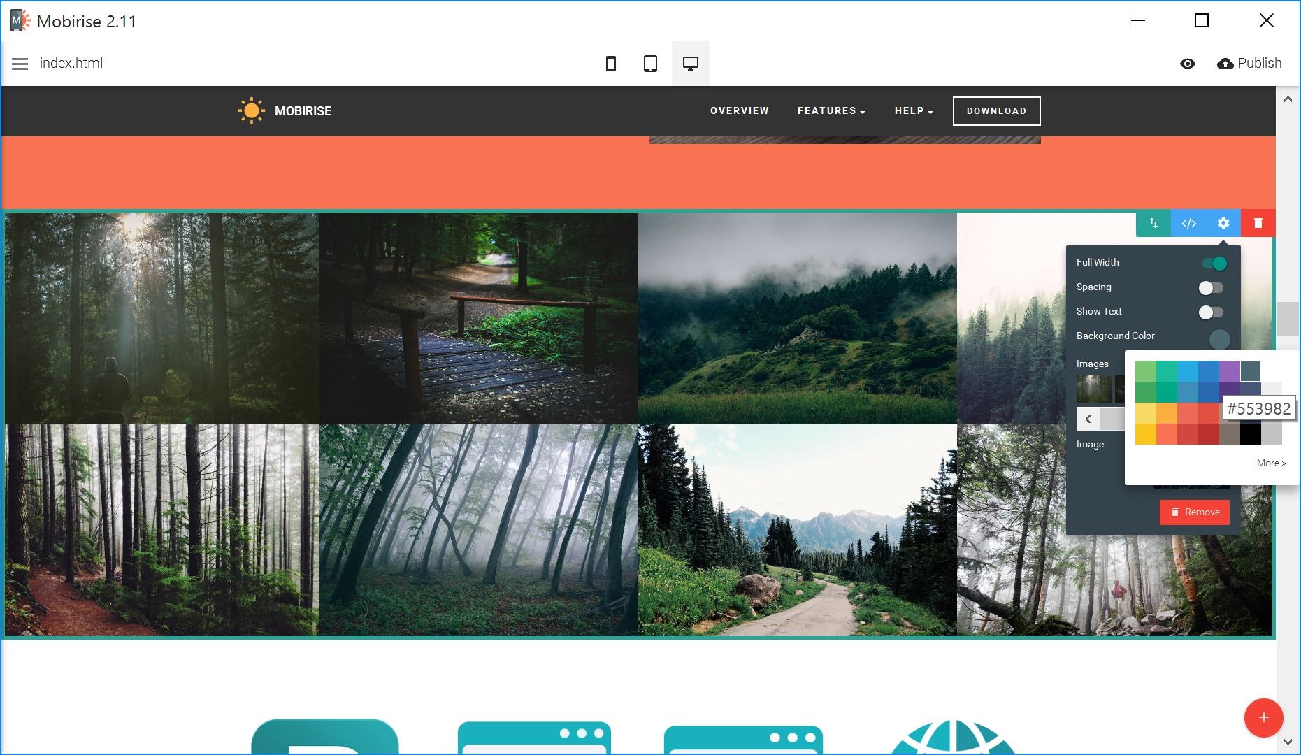 Bootstrap Simple Website Creator
