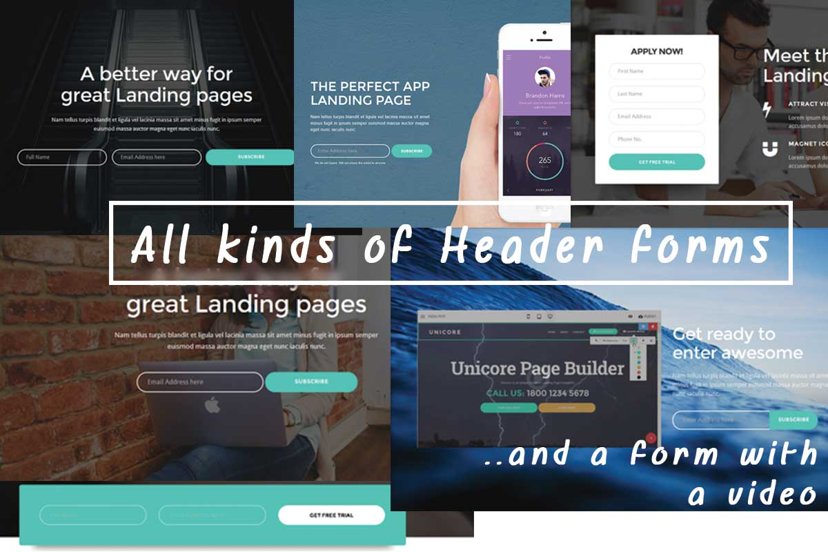 Twitter Bootstrap Landing Page Theme Builder
