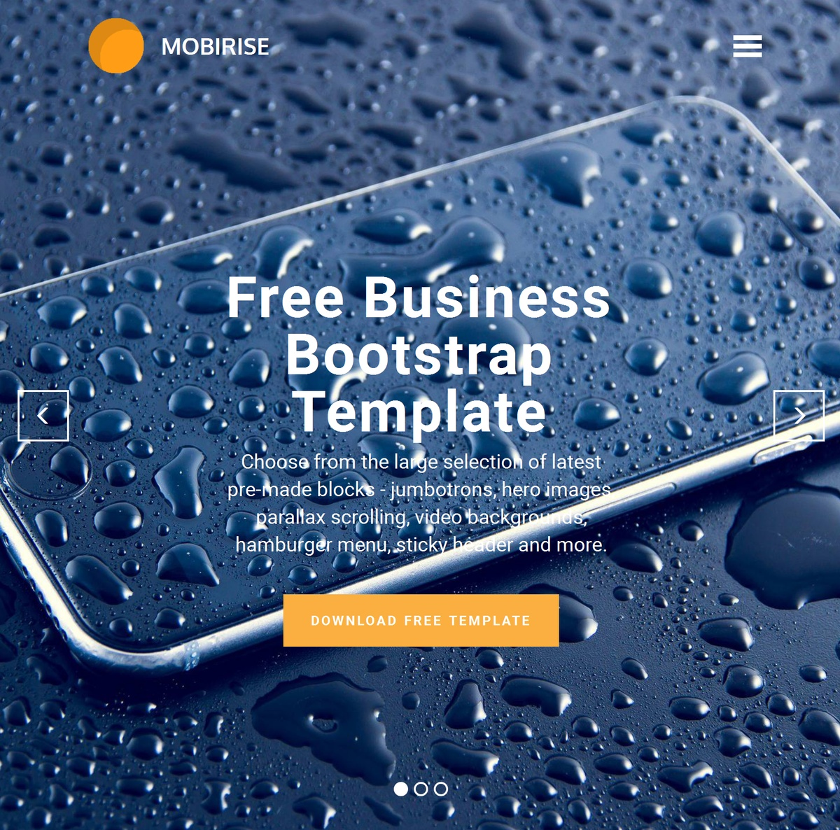 Bootstrap Responsive Website Templates Themes Extensions