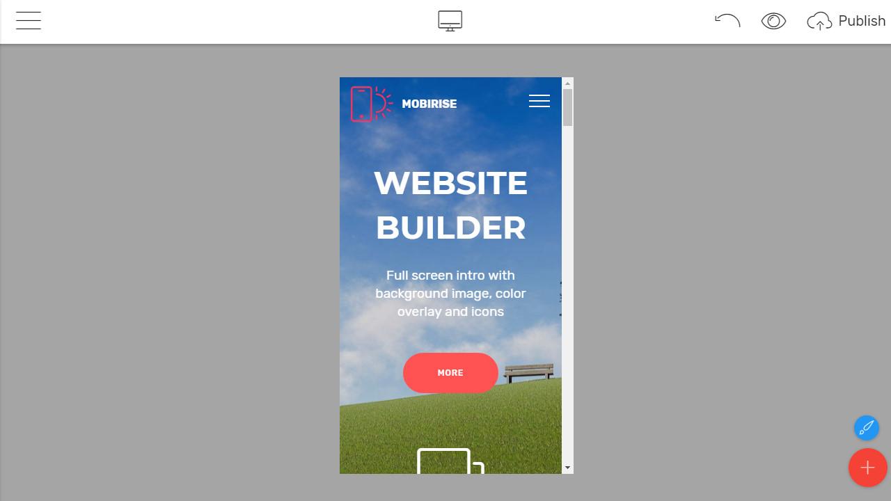 Mobile-Friendly Website Builder