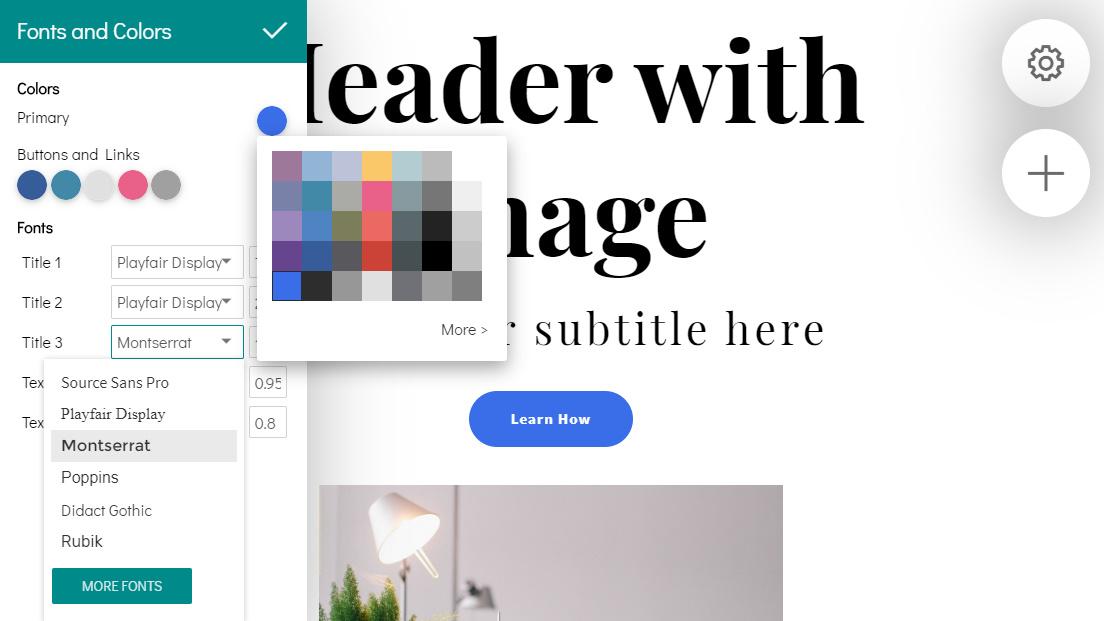 HTML Website Design Maker